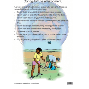 Caring For The Environment - Poster