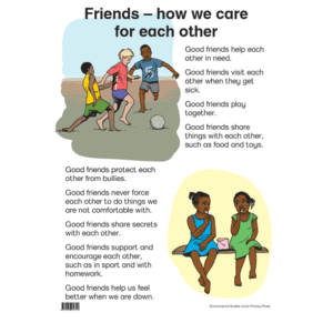 Friends - How We Care For Each Other