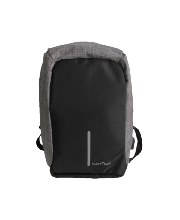 Kenton Laptop Anti-Theft Backpack Black & Grey