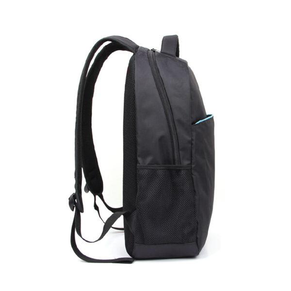 Kingston Black Laptop Backpack With Blue Strips