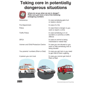 Taking Care In Potentially Dangerous Situations