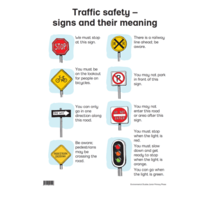 Traffice safety - Poster