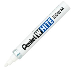 White Marker 3.9mm Nib Size