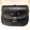 Shilongo Leather Handbag Smallest 1c Black