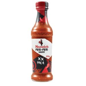 Nandos XX Hot Peri-Peri Sauce (6 Pack)