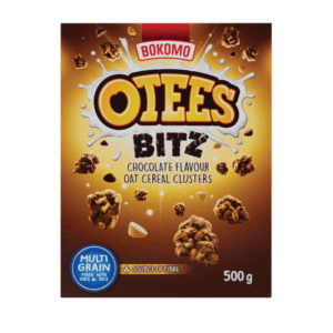 20 x 500g Bokomo Otees Bitz Chocolate Cereal
