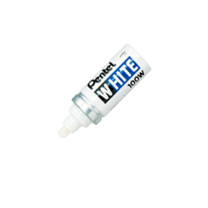 White Marker 6.5mm Nib Size