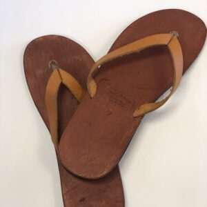 Shilongo Leather Summer Sandals Brown