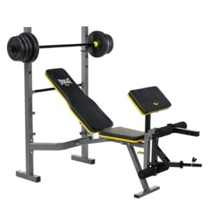 Power Core Bench With Barbell