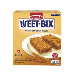 12 x 1.35kg Bokomo Weet-Bix Cereal