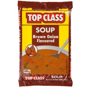 20 x 500g Top Class Brown Onion Soup