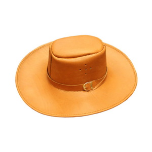 Shilongo Leather - Brown Tan Leather Hat