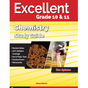 Excellent Chemistry Study Guide Gr. 10&11