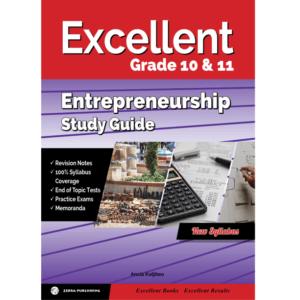 Excellent Entrepreneurship Study Guide Gr 10&11