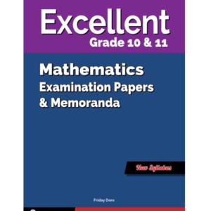 Excellent Mathematics Gr. 10&11 EPM