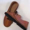 Shilongo Leather Fancy Shoes Brown