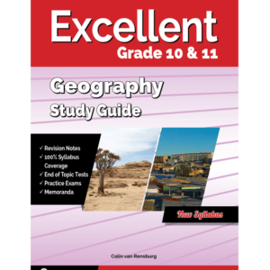 Excellent Geography Study Guide Gr 10&11