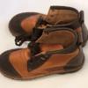 Shilongo Leather Safari Boots - Two-Tone