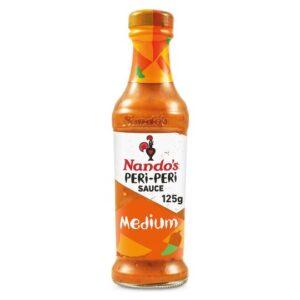 Nandos Medium Peri-Peri Sauce (6 Pack)