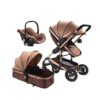 Belecoo 3 in 1 Baby Pram Stroller with Car Seat