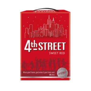 4th Street Sweet Red Wine 3L