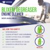 Blixem Engine Cleaner/Degreaser Water Base