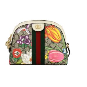 Gucci Ophidia flora Camera handbag Wallet