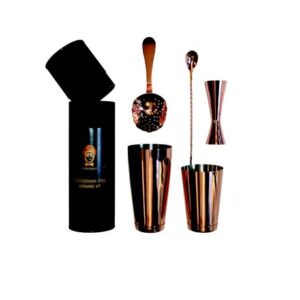 Bar Equipment - Professional Style Kit - Copper 5 Pieces