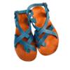Shilongo Leather - Come To Jesus Sandals Blue
