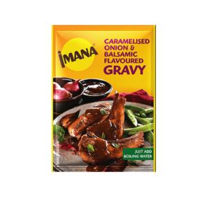 20 x 34g Imana Instant Gravy - Assorted