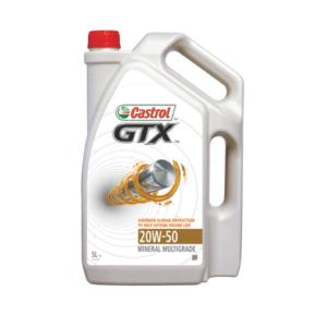 Castrol GTX 20W/50 Engine Oil