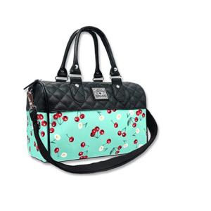 Daisy Cherry Women's Bowler Bag