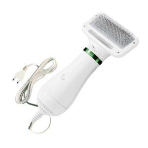 Electric 2-in-1 Pet Grooming Hair Dryer Blower Slicker Brush