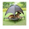 Elevated Dog Bed with Detachable Canopy