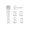 Optic 5 in 1 Facial Hair Removal Electric Face Brush - White