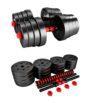 20KG Barbell & Dumbbells Weight Set