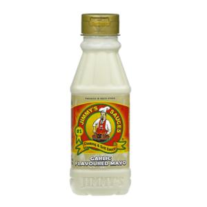 12 x 375ml Jimmy's Garlic Flavoured Mayo Sauce