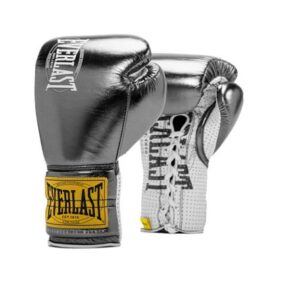 Everlast 1910 Fight Gloves – Gun Metal – 8oz