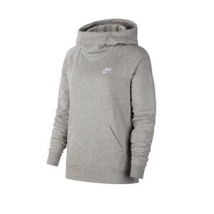 Nike Women's Sportswear Essential Funnel-Neck Fleece Pullover Hoodie