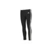 adidas Women's 3-Stripe Tights - Black and White