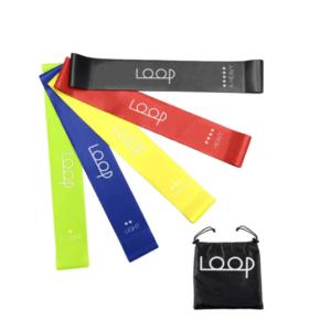 Loop Fitness Resistance Bands - Set of 5