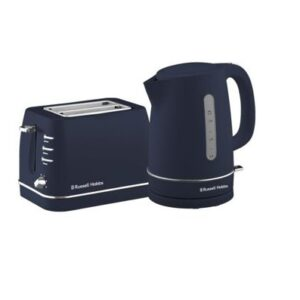 Russell Hobbs Royal Kettle and Toaster Set - Midnight Blue