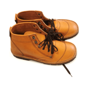 Shilongo Leather Safari Boots Brown