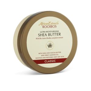 6 x 250ml African Extracts Rooibos Ultra-Moisturising Shea Butter