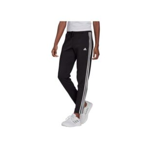 adidas Women's 3-Stripe 7/8 Training Pants - Black/White