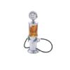 Bar Butler Retro Style Juice and Liquor Gas Pump Dispenser Silver Finish