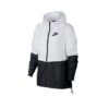 Nike Women's Sportswear Woven Jacket - White - S