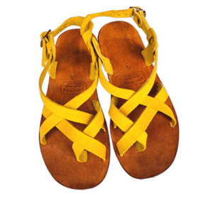 Shilongo Leather - Come To Jesus Sandals Yellow