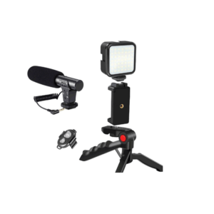 Professional Vlogging Kit With Tripod