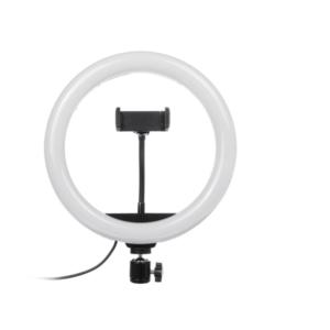 MJ20 20cm 8-inch RGB LED Ring Light + Phone Clip